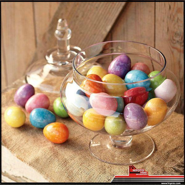 Jangan buru-buru buang telur Paskah Anda! Masukkan ke dlm toples kaca untuk dekorasi interior di rumah :) #desaininterior #dekorasirumah #desainrumah