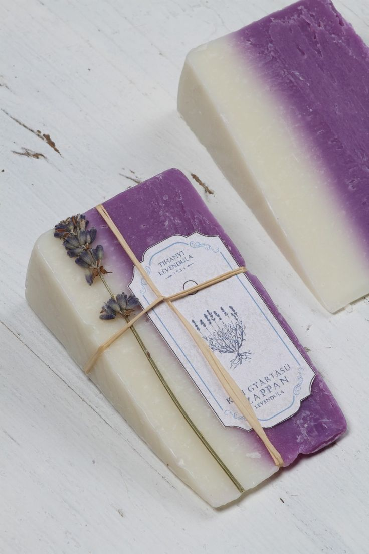 Hand Crafted French Lavender Soap Sliced Makes a pefect Gift, Creative design has never smelt so good. Melt away stress with rich, soothing lather.