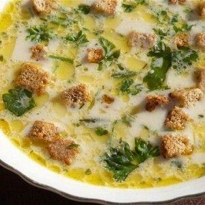 Сырный суп с шампиньонами и сухариками рецепт – супы. «Афиша-Еда»