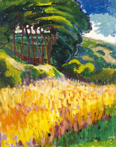 Trees on a Hillside (1910-11) - Emily Carr