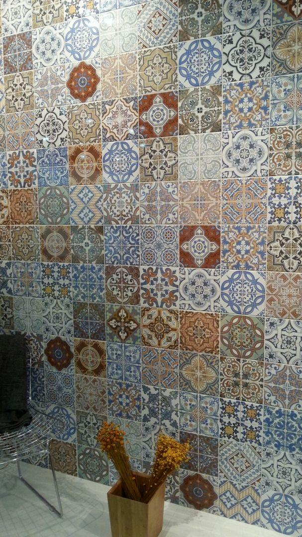 Add Bold Vibrant Moroccan Colours To Your Kitchen Splashback Or Bathroom  Wallsu2026