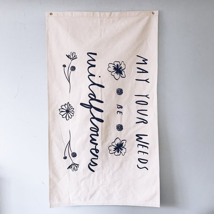 Our Wildflower flag is a collaboration with