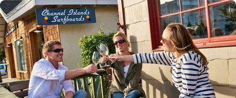 Santa Barbara Urban WineTrail Itinerary - Los Olivos - Bouchon - Santa Barbara