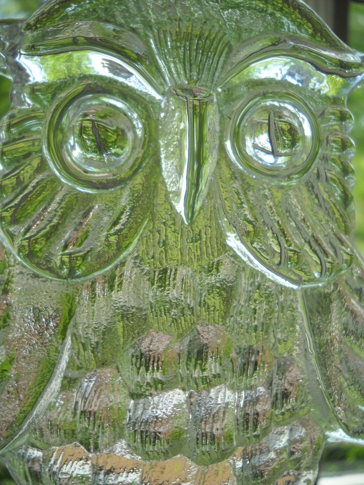 Boda Kosta Boda Clear Glass Owl Sun Catcher Bertil Vallien by Modernaire on Etsy