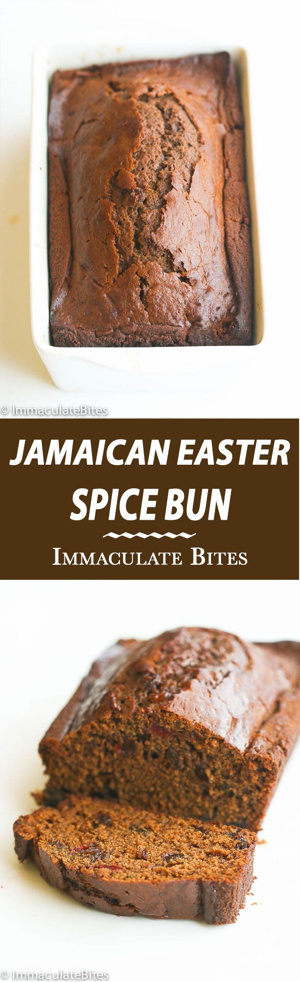 Jamaican Easter Spice Bun- Highly Spiced Jamaican bread -Soft, tender studded with rasins and fruits .