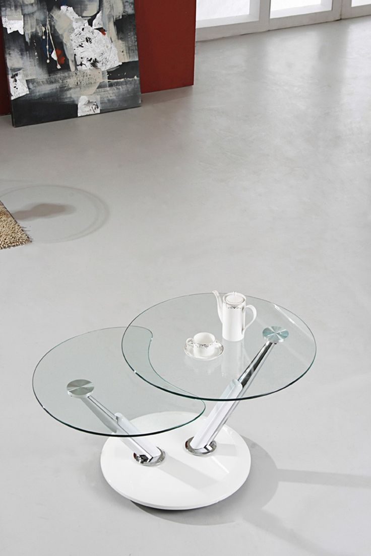 best  round glass coffee table ideas on pinterest  ikea glass  - contemporary modern coffee table  chrome glass coffee table  heavy dutytoughened tempered glass  shaped polished glass edges for extra safety item