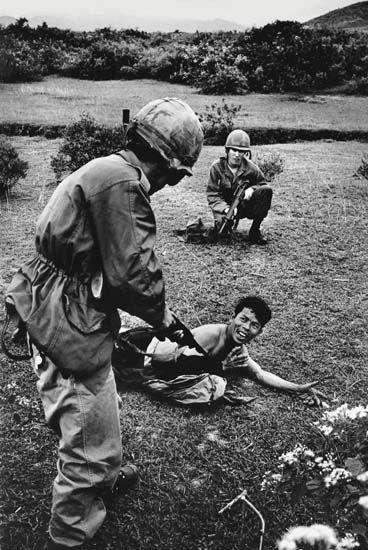 Photo Henri Huet. Guerre du Vietnam.