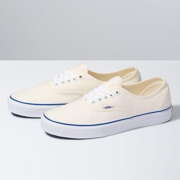 Classic shoes, Vans authentic white, Vans