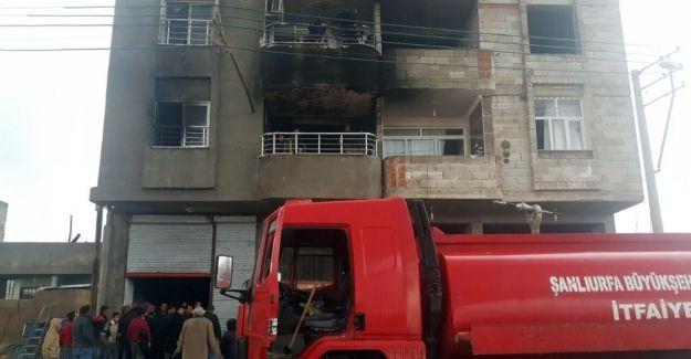 Suruç'ta yangına giden itfaiyeciler dayak yedi