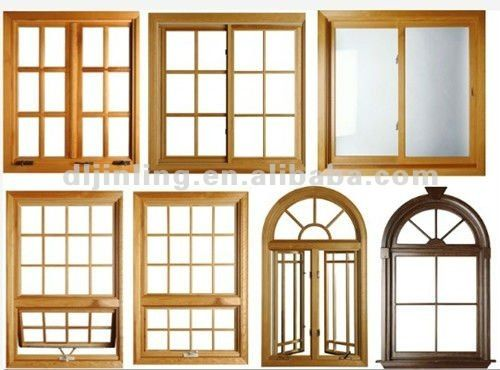 8 best ventanas de madera images on pinterest wooden for Window design kerala