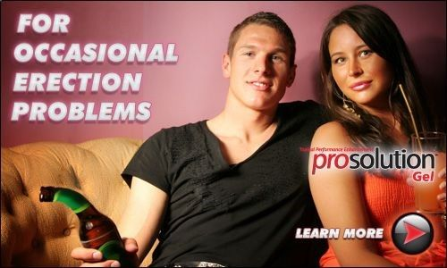 ProSolution Gel is the ultimate arousal and control cream. With pills it takes time to get results, but with ProSolution Gel you can get results in literally seconds! By simply applying ProSolution Gel to your penis, not only will you stimulate an instant erection, it will also give you added control helping prevent premature ejaculation. www.prosolutionge...