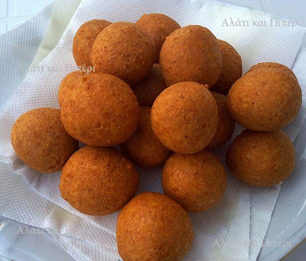 Τυροκροκέτες - cheese balls