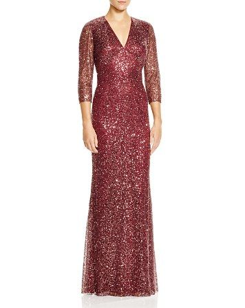 $Kay Unger Embellished Gown - 100% Exclusive - Bloomingdale's