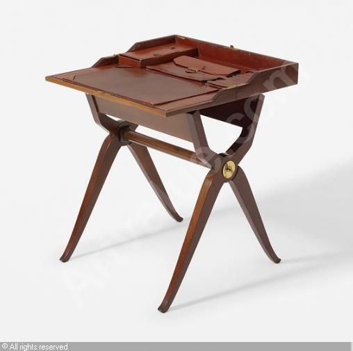 Early folding desk sold by Wright, Chicago, on Thursday, October 22, 2015