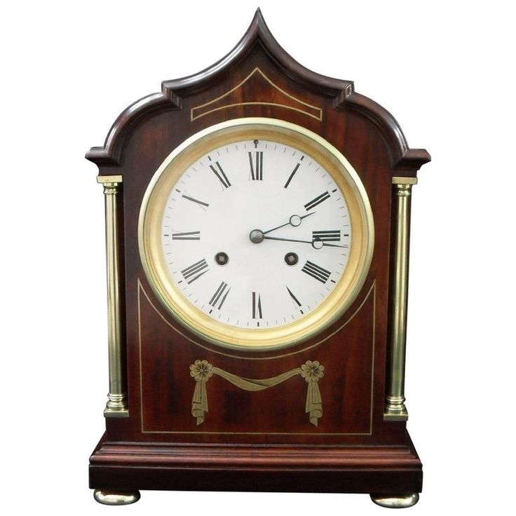 Mahogany Mantel Clocks