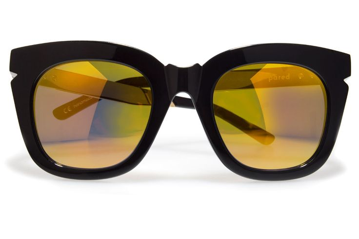 BRIGHT LIGHTS BLACK / GOLD / GOLD MIRROR KRYSTLE KNIGHT X PARED EYEWEAR
