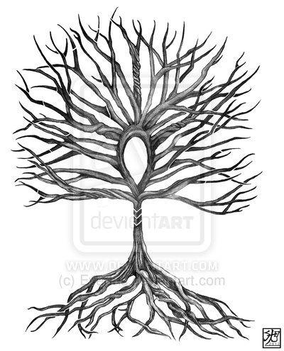 Ankh Tree of Life by EverIris.deviantart.com on @deviantART