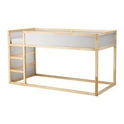 KURA Reversible bed - IKEA $199 Put a second mattress on the floor for cheap bunk beds