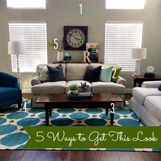 Lighter color living room instead of dark walls. I like this look. Camille Roskelley Simple Living Room with text