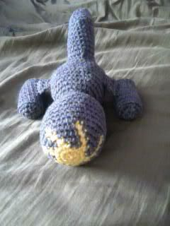 Serenity - Back View Firefly! Free crochet pattern.   I know of a few fans of the show that would love this!