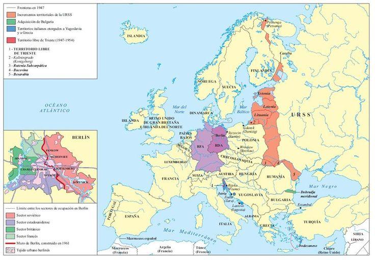 21. Europa después de 1945