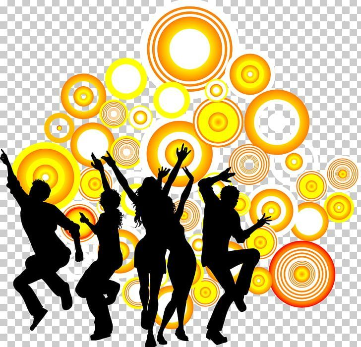 Dance Party Silhouette Png Animals Background Vector Ballet Cartoon Circle Frame Silhouette Png Png Dance Party