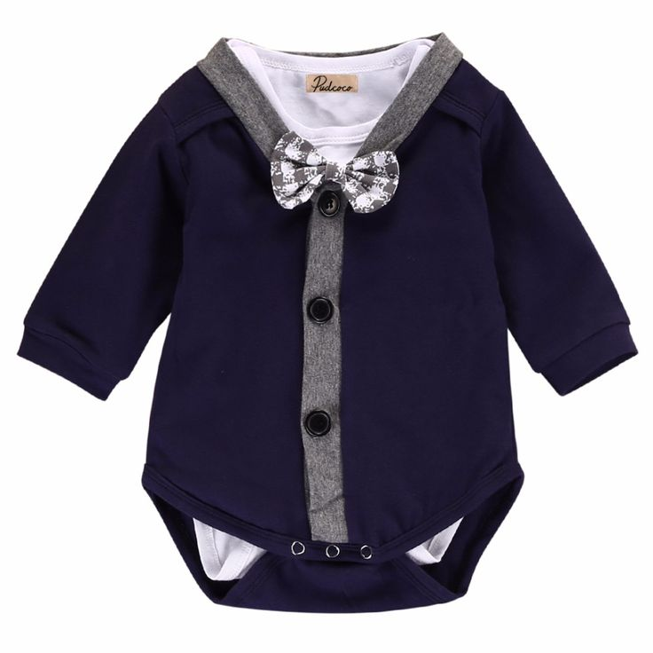 >> Click to Buy << Infantil Toddler Newborn Baby Boy Fashion Cardigans Sweatshirt Coat+Romper Jumpsuit 2PCS Outfits Clothes #Affiliate