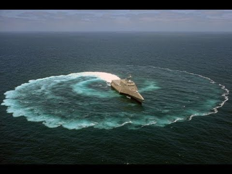 US Navy - USS Independence (LCS 2) Maneuvering Capabilities Demonstration [1080p] - YouTube