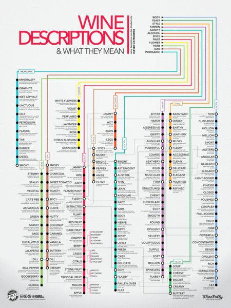 Wine education poster!