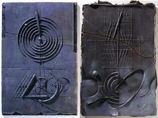 """Ancona: Museo tattile statale Omero - Walter Valentini, Due terrecotte dal titolo """"Di-segno"""" e """"Superficie"""" #ndm13 #nottedeimusei"""