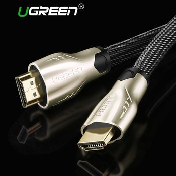 Ugreen HDMI Cable 2.0 4K 1080P HDMI to HDMI Cable 5m 1m 10m HDMI Cable Adapter 3D for Apple TV LCD PS3 PS4 projector computer  Price: 9.66 USD