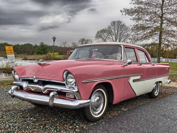 1956 Plymouth Belvedere 4-Door Sedan