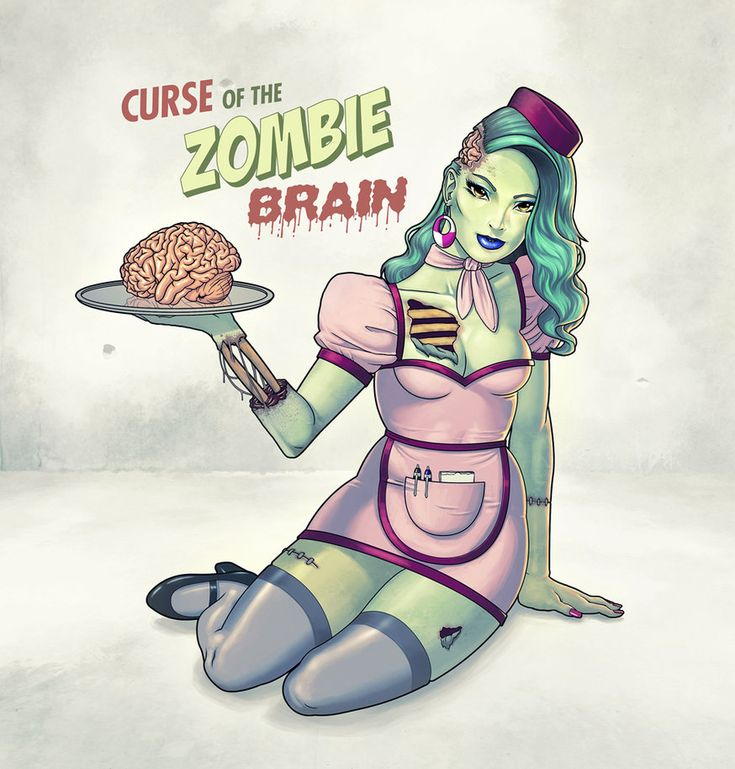 Zombie Pin Up!!! <3