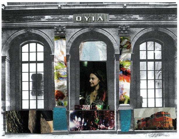 collage Le Louvre
