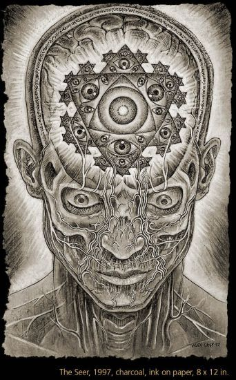 alex grey art - Google Search                                                                                                                                                                                 Mais