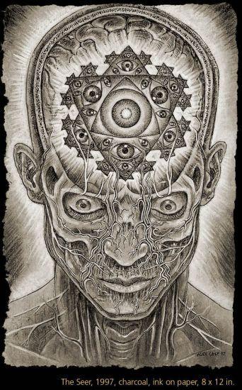 alex grey art - Google Search                                                                                                                                                                                 More