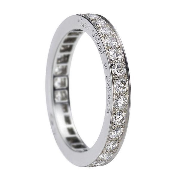 ラウンドカット エタニティリング - Van Cleef & Arpels(ヴァン クリーフ&アーペル)の結婚指輪(マリッジリング)