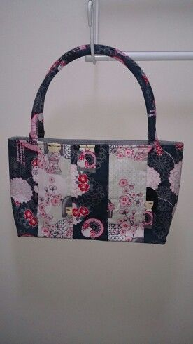 Small panelled bag
