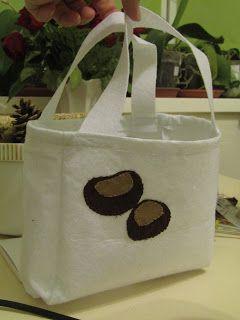 Süti és más...Gesztenyegyűtő táska