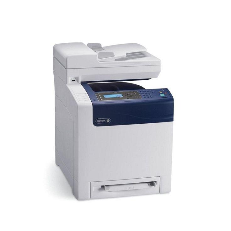 Xerox WorkCentre 6505N Laser MultiFunction Printer Color Printer Copier Fax Scanner 6505/N