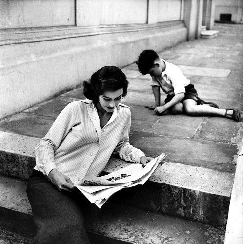 Anne Gunning, photo by Eugene Vernier, 1950s