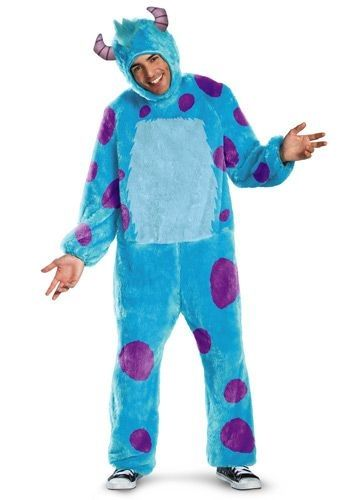 Are you ready to head to Monster University to learn to become a scarer? You will when you wear this Adult Sully Costume.