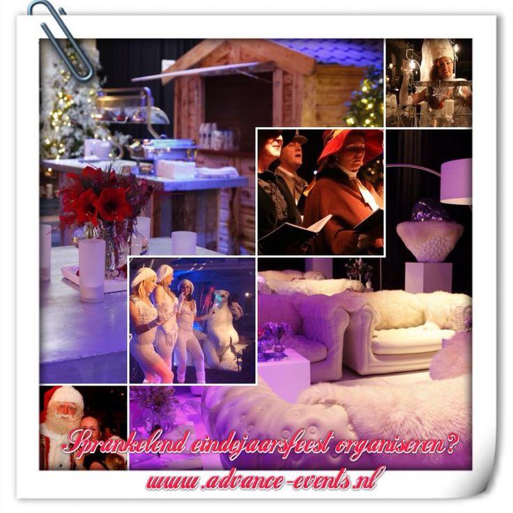 Personeelsfeest, kerstfeest, bedrijfsfeest... Advance Events.