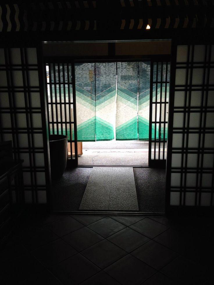 金沢・尾張町の壽屋さんの暖簾 藍楽布 -あいらいふ-