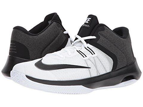 NIKE Air Versitile II, WHITEBLACK. #nike #shoes | High top