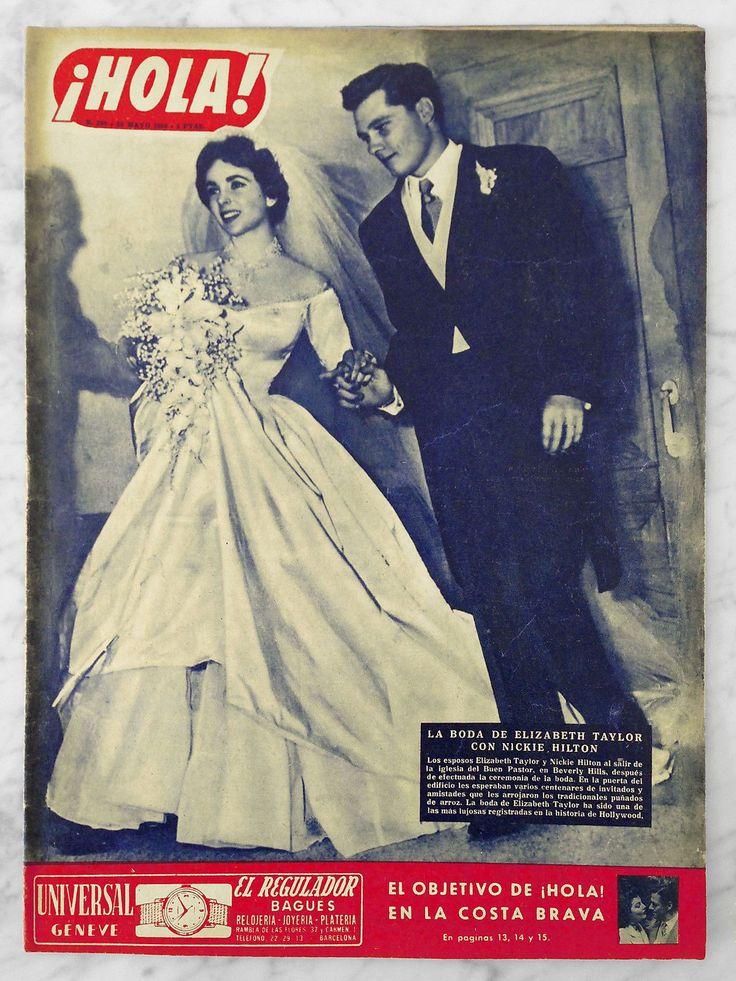 Elizabeth Taylor - Hola! Magazine Cover [Spain] (10 May 1950)