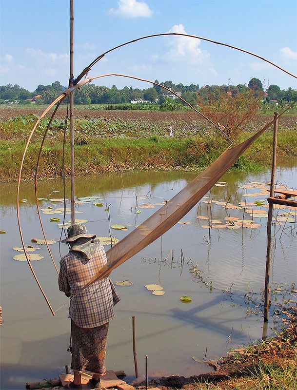 17 best images about explore the mekong on pinterest for Types of fishing nets