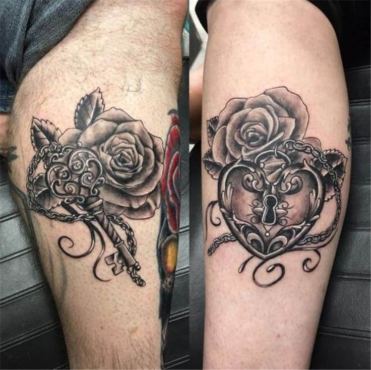 60 Perfect And Forever Couple Matching Tattoos For The Hopeless Romantics – Page 51 of 60