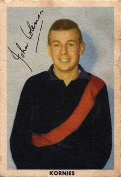 JOHN COLEMAN - ESSENDON  the mighty man himself!