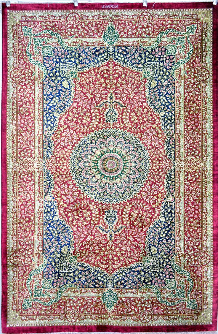 Qum Royalty Silk Persian Rug Exclusive Collection Of Rugs And Tableau Treasure Gallery